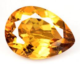 9.41Cts Rare Fancy Yellow Colors Natural Mystic Quartz