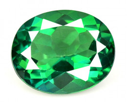 4.35 Cts Rare Fancy Green Colors Natural Topaz