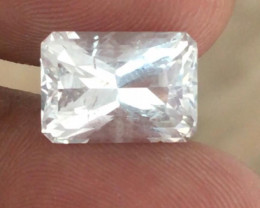 Natural Unheated White Sapphire |Loose Gemstone|New| Sri Lanka