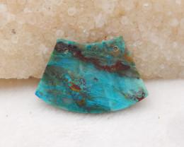 23cts Chrysocolla Pendant ,Natural Gemstone ,Chrysocolla Pendant H1208