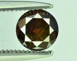 Top Quality 0.60 ct Brown Diamond~T