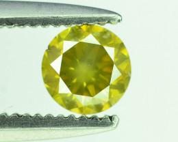 Top Quality 0.30 ct Yellow Diamond~T