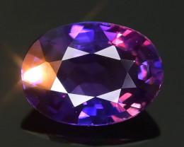 Color Change 0.97 ct Purple Sapphire SKU.31