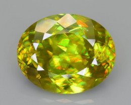 Rare AAA Fire 4.29 ct Sphene Sku-63