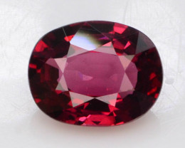 0.80 ct Red Color Spinel Untreated/Unheated ~Burma