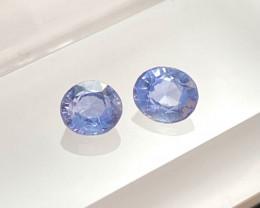 0.88ct unheated blue sapphire