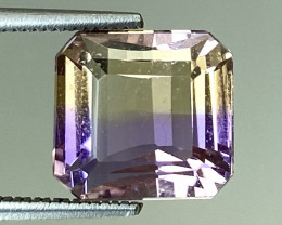 4.22Ct Natural Ametrine Bolivian Top Quality Gemstone. AMB 01