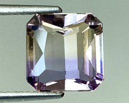 4.03Ct Natural Ametrine Bolivian Top Quality Gemstone. AMB 03