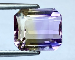 3.52Ct Natural Ametrine Bolivian Top Quality Gemstone. AMB 07
