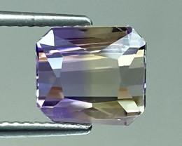 3.56Ct Natural Ametrine Bolivian Top Quality Gemstone. AMB 21