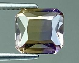 2.66Ct Natural Ametrine Bolivian Top Quality Gemstone. AMB 25
