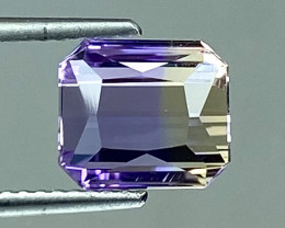 2.92Ct Natural Ametrine Bolivian Top Quality Gemstone. AMB 26