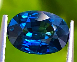 1.98 ct ViVid Blue sapphire 100% Natural With Fine Cutting Gemstone