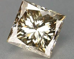 CHAMPAGNE DIAMOND .20 CTW PRINCESS CUT BEAUTY.. NO OTHER WORDS!!