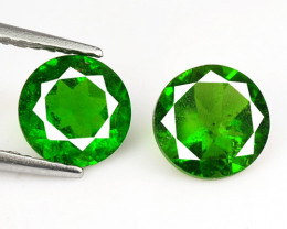 *NoReserve* Chrome Diopside 1.64 Cts Natural Green Color Loose Gemstone