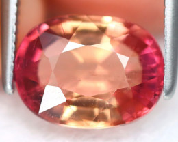 Pink Tourmaline 2.25Ct Oval Cut Natural Vivid Pink Tourmaline B7701