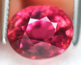 Pink Tourmaline 2.01Ct Oval Cut Natural Vivid Pink Tourmaline B7702