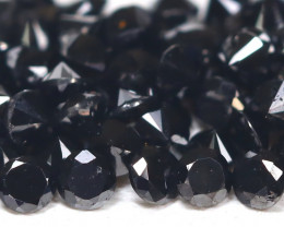 Black Diamond 1.67Ct Natural Round Black Color Diamond Lot B7667