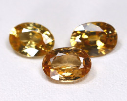 Yellow Zircon 5.45Ct VS Oval Cut Natural Yellow Zircon Lot B7676