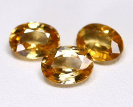 Yellow Zircon 5.52Ct VS Oval Cut Natural Yellow Zircon Lot B7681