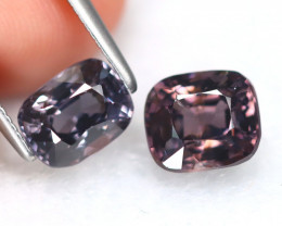 Spinel 2.91Ct 2Pcs Octagon Cut Natural Burmese Fancy Spinel B7653