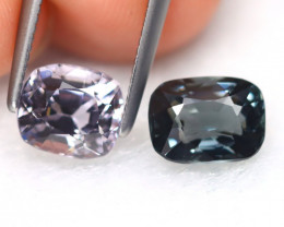 Spinel 2.58Ct 2Pcs Octagon Cut Natural Burmese Fancy Spinel B7654