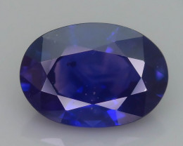 Ceylon Sapphire 1.01 ct Royal Blue Color Nice Brilliance  SKU.32
