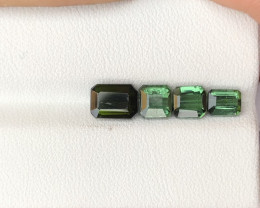 3.90 ct Green Tourmaline Parcel Ring Sizes