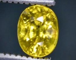 1.08 Crt  Zircon Faceted Gemstone (Rk-37)