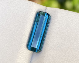 Natural Blue Tourmaline 1.55 Cts Good Quality Gemstone