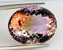 43.41  ct. Natural Earth Mined Top Ametrine Unheated Bolivia  - IGE Сertifi