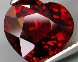 6.13  Ct. Natural Earth Mined Top Red Rhodolite Garnet Africa – IGE Certifi