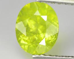 Chysoberyl 0.78 Cts Green Portuguese Cut BGC955