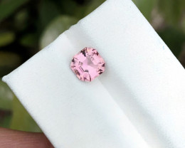 1.60 Ct Natural Pink Transparent Tourmaline TOP Quality Gemstone