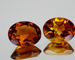3.12Crt Madeira Citrine Natural Gemstones JI111