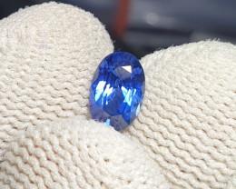 CERTIFIED 1.08 CTS NATURAL BEAUTIFUL ROYAL BLUE SAPPHIRE CEYLON SRI LANKA