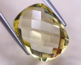 9.69ct Natural Lemon Quartz Octagon Cut Lot GW8217
