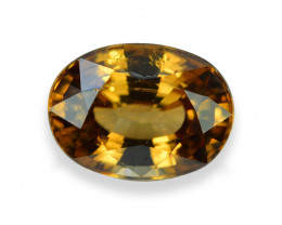 4.72 Cts Beautiful Natural Brown Zircon