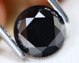 Black Diamond 1.78Ct Natural Round Black Color Diamond B7902