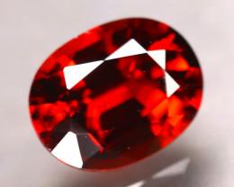 Almandine 2.14Ct Natural Vivid Blood Red Almandine Garnet E0303/B3