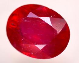 Ruby 3.61Ct Madagascar Blood Red Ruby  E0316/A20