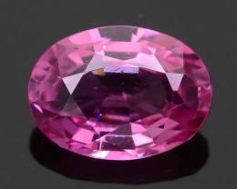 Ceylon Pink Sapphire  0.91 ct Lively Saturated color SKU.30