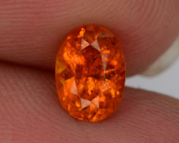 AAA ULTRA RARE 0.75 ct Natural Clinohumite