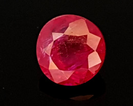 0.88CT NATURAL RUBY HEATED ONLY BEST QUALITY GEMSTONE IIGC10
