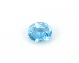 **NR** 2.76ct Natural Blue Cambodian Zircon
