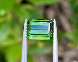 Natural Green Tourmaline 2.25 Cts Good Quality Gemstone