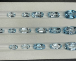 37.90 CT Topaz Gemstones parcel
