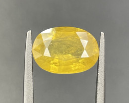 2.80 CT Yellow Sapphire Gemstones