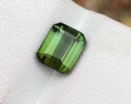 1.35 ct Attractive Green Tourmaline amazing Ring Size