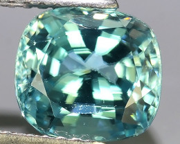 3.80 CTS AWESOME SPARKLE NATURAL RARE BEST BLUE ZIRCON~EXCELLENT!